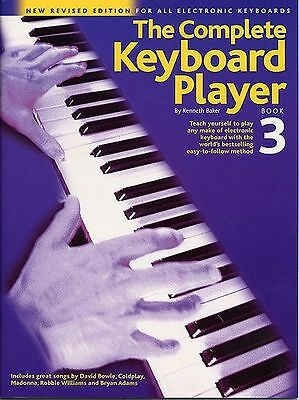 The Complete Keyboard Player. Book 1, 2 & 3 Available with/without CD