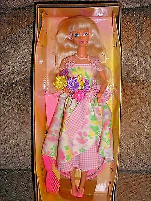 Avon Special Edition Spring Petals Blonde Barbie Second in a Series