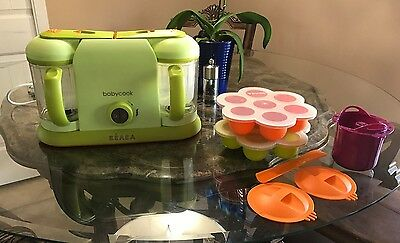 New Beaba Pro 2x Baby Food Maker Bundle with Accessories!