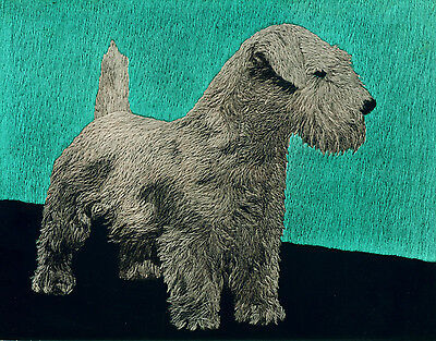 Dog Print 1934 Sealyham Terrier Dog VINTAGE