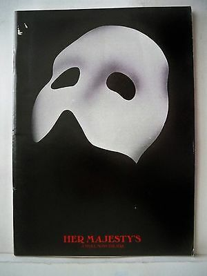 PHANTOM OF THE OPERA Playbill DAVE WILLETTS / CLAIRE MOORE / MICHAEL BALL 1988