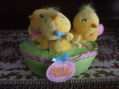 Hallmark Animated EASTER CHICKS Go-Gos Song Jingle Pals Style Singing Dancing