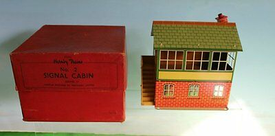 HORNBY O GAUGE NO 2 SIGNAL CABIN 42370 boxed 1951