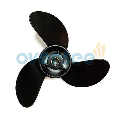 3R1W64516-0 Aluminum Propeller 7.8x8 For Tohatsu Mercury Outboard Motor 5HP 6HP