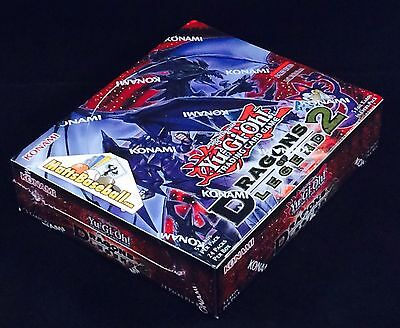 YuGiOh Dragons of Legend 2 Booster FACTORY SEALED Box, 24 packs/5 cards