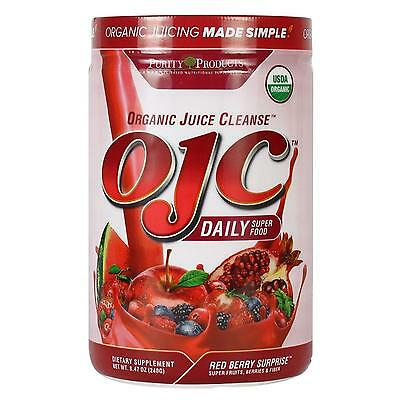 NEW Purity Products Organic Juice Cleanse OJC Red Berry Surprise Juicing Detox