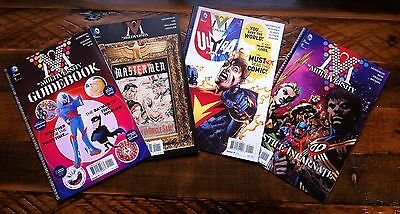 Grant Morrison MULTIVERSITY Set pt 2 Guidebook, MASTERMEN, Ultra Comics JIM LEE