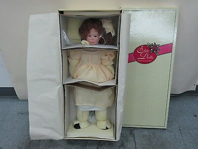 Porcelain Inga Doll by Carla Rauser for Elite Dolls Collection NIB