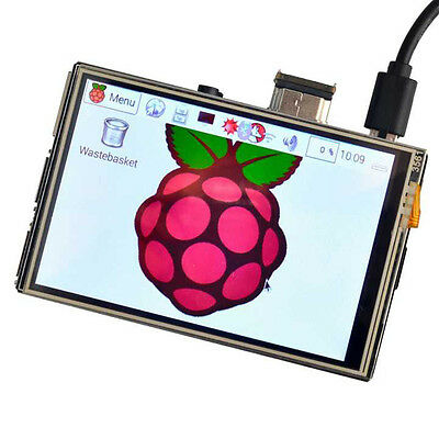 """US 3.5"""" HDMI LCD Touch Screen for Raspberry Pi 3 Pi2 B+ Support Video Game New"""
