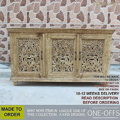 MADE TO ORDER Jali Indian hardwood french sideboard buffet hutch console1.6m