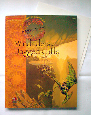 DARK SUN WINDRIDERS OF THE JAGGED CLIFFS (TSR Dungeons & Dragons 2nd Edition)