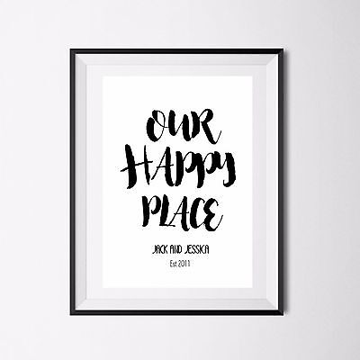 Inspirational Quote Poster Art Print A4 Typography Decor gift wall decor Exist