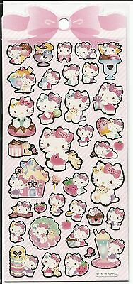 Sanrio Hello Kitty Gold Foil Outlined Stickers