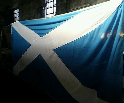 12 foot St ANDREWS CROSS FLAG Scotland Scottish  BRAND NEW gift idea football