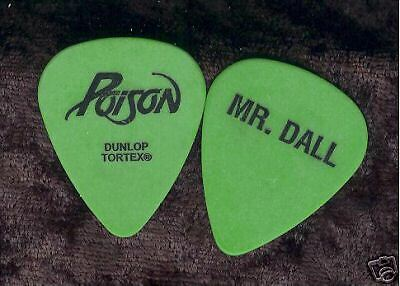 POISON 2006 Anniversary Tour Guitar Pick!!! BOBBY DALL custom concert stage Pick