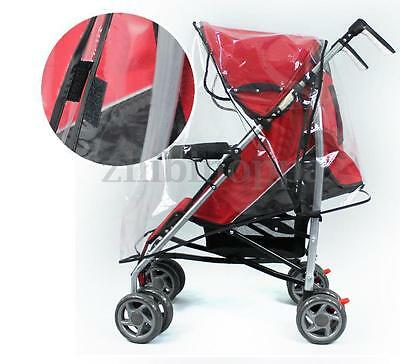 NEW Elegance Single Stroller Weather Shield Rain Cover Canopy Universal Size US