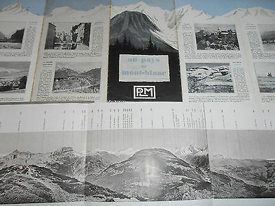 LOT DE 2 GUIDES MONT BLANC  (ref 36)