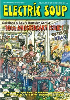ELECTRIC SOUP 10TH ANNIVERSARY SPECIAL. Frank Quitely. BAGGED. FREE UK P+P! NEW