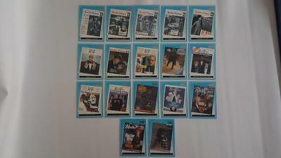 2000 Doctor Who Radio Times R1-R17 Complete Chase Cards Set N.M/ Mint