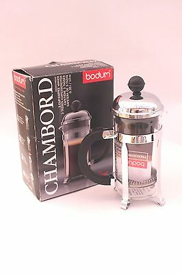 Bodum Chambord coffee maker French press Cafetiere 3 cup 0.35l 12oz  B5