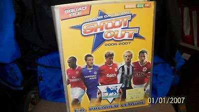 Shoot Out-Trading Cards-Complete Albums 360 cards in one album