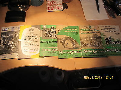 Great Motorcycle Programmes From The 1950's