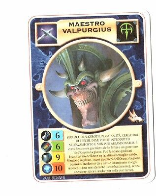 Maestro Valpurgius - Paradise Lost - Mutant Chronicles - ITA