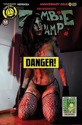 Zombie Tramp Ongoing #25 Risque Photo Variant 2016 Sdcc