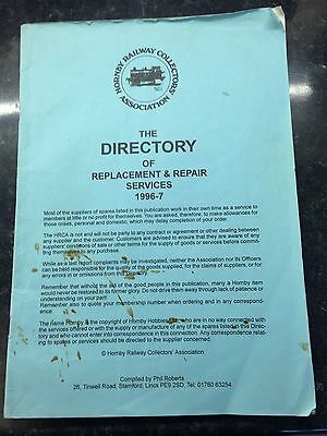 Hornby Railway Collectors Association Directory 1996-7 Replacement Repair HRCA