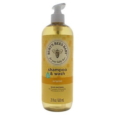 Baby Bee Shampoo & Wash Original by Burt's Bees for Kids - 21 oz Shampoo & Body