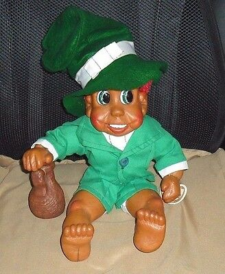 "Top O' The Mornin' 14"" Tall Danny The Very Famous #85 Naber Kid Leprechaun Doll"