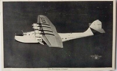 United States 1967 Sunderland Flying Boat Philippine Clipper Picture Post Card