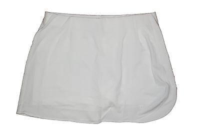 Wilson Youth Girls Tennis Tour Skort White Size Youth-XL (Age 16)  BNWT