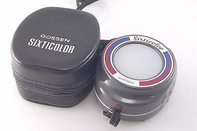 GOSSEN SIXTICOLOR METER +Case Colour Temperature Meter Not exposure Sixticolour
