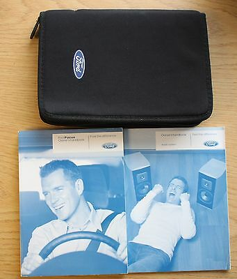 Ford Focus Facelift Handbook Owners Manual Wallet & Audio Guide 2008-2011 Pack
