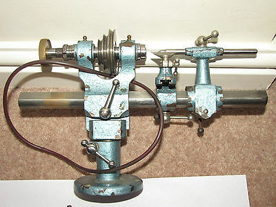 WATCHMAKERS LATHE RAWCO 6.5mm WITH ACCESSORIES.