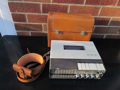 Uher Reel To Reel 4000 Report Tape Recorder C/w Leather Case Untested Vtg