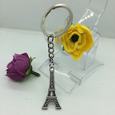 Mini Creative Key Chain Ring Keyring Metal Keychain Gift Tool Tower