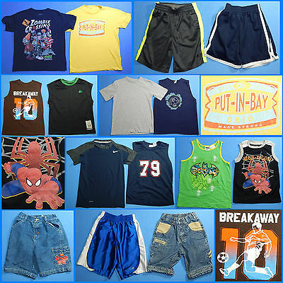 15 Piece Lot of Nice Clean Boys Size 6 Spring Summer Everyday Clothes ss143