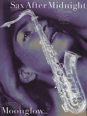 Sax After Midnight Moonglow Alto Tenor Saxophone Sheet Music Book