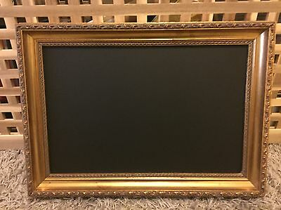 Vintage Shabby Chic Wooden Wedding Blackboard Picture Frame