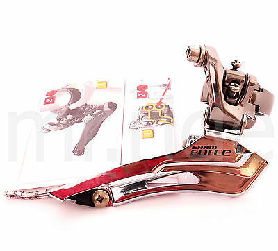 SRAM Force 2x10 Speed Road Bike Front Derailleur 34.9mm Clamp-On