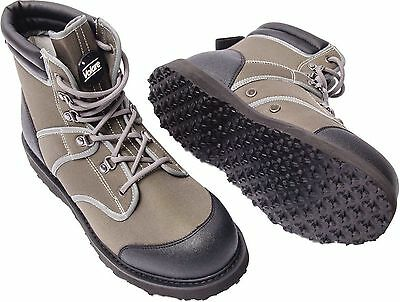 Leeda Volare Light Easy Lace Rubber Sole Wading Fishing Boots - 8 to 12 UK