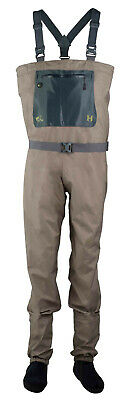 Leeda Volare Stocking Foot Breathable Fly Fishing Chest Waders - All Sizes