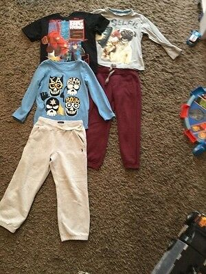 Small bundle of boys clothes, age 5-6