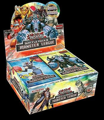 Yu-Gi-Oh! Battle Pack 3: Monster League Booster Packs x 6 New Sealed