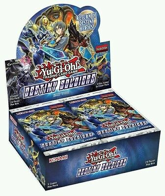 Yu-Gi-Oh! Destiny Soldiers Booster Packs x 6 New Sealed