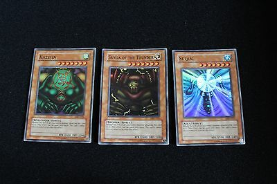 Kazejin, Sanga Of The Thunder, Suijin yu-gi-oh cards
