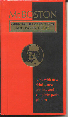 Mr. Boston Official Bartender'S And Party Guide, 1988, Hardcover