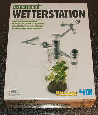 Green science Wetterstation  NEU OVP